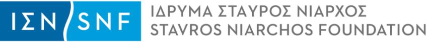 Stavrow Niarchos Foundation logo